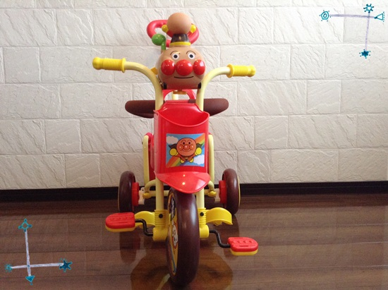 アンパンマン三輪車