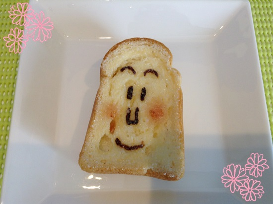 食パンマンのパン