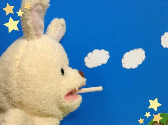 ココアシガレット 喫煙