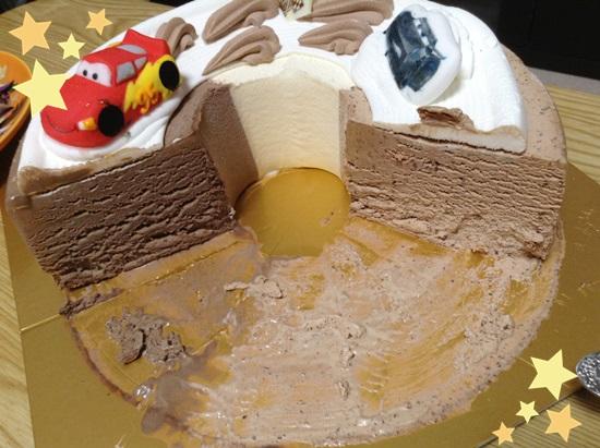 サーティワン アイスケーキ カーズ