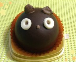 黒猫ケーキ
