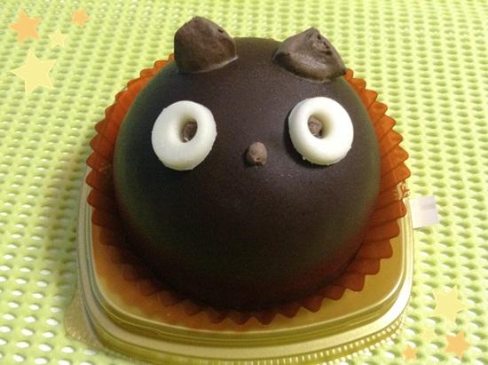 黒猫チョコケーキ