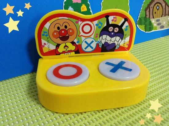 アンパンマン&バイキンマンがおしゃべり○×ピンポン ブー ボタン