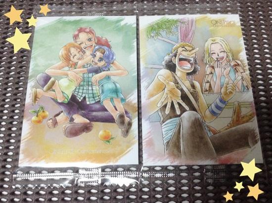 3.メモリーズカード:ナミ&ノジコ&ベルメール 4.メモリーズカード:ウソップ&カヤ