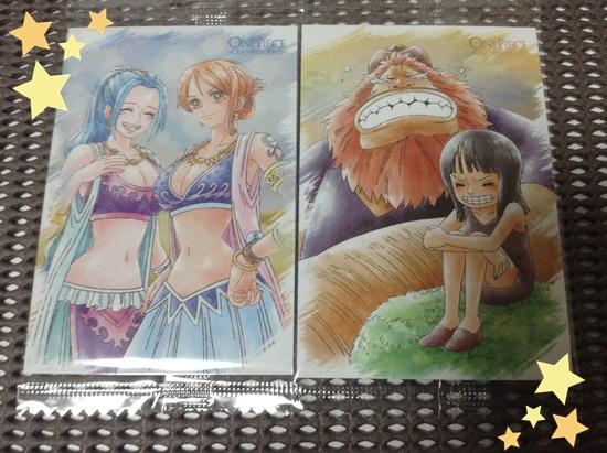 7.メモリーズカード:ナミ&ビビ 8.メモリーズカード:ロビン&サウロ