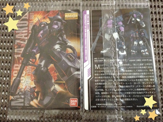 09 MG/MS-06R/黒い三連星ザク Ver.2